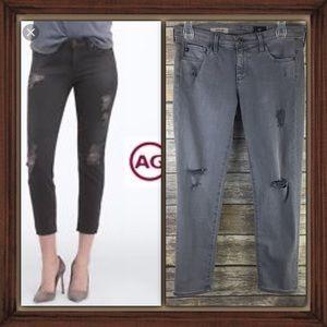 Adriano Goldschmied The Stilt Cigarette Crop Jeans